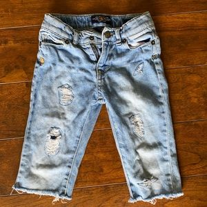 Lucky brand distress jeans